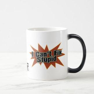 I Can't Fix Stupid Drinkwear 2 Morphing Mug