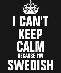 f2724e9a7 Swedish Keep Calm T-Shirts & Shirt Designs | Zazzle.com.au