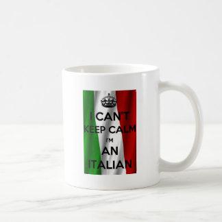 I CAN'T KEEP CALM... I'M ITALIAN COFFEE MUG