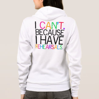 I Can't (Multi-Colour) Women's Hoodie