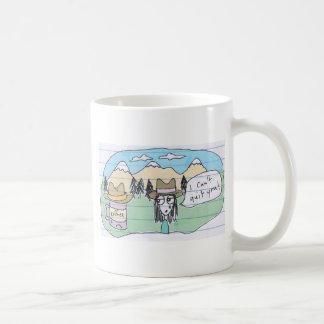 i can't quit you basic white mug