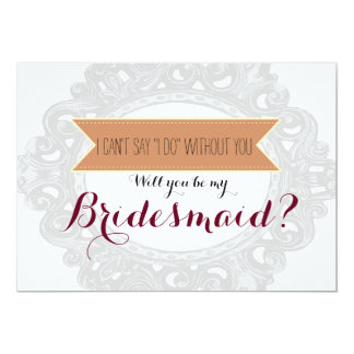 """I can't say """"I Do"""" without you 