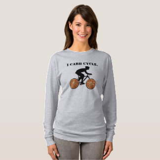 """""""I CARB CYCLE"""" GYM GEAR T-Shirt"""