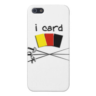 i card (fencing referee) iphone4 case iPhone 5/5S cover