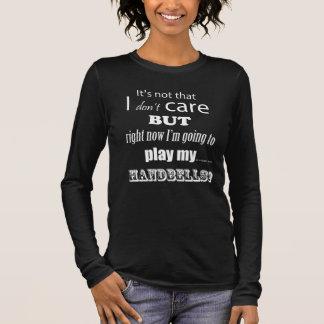 I Care Handbells Long Sleeve T-Shirt