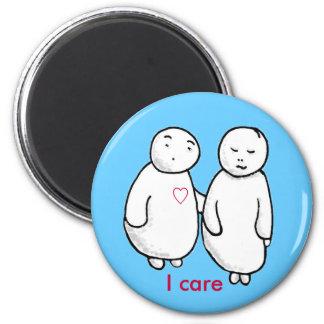 I care magnet