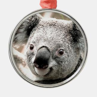 I Care_ Metal Ornament