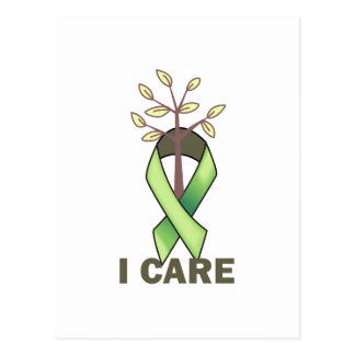 I CARE POST CARDS