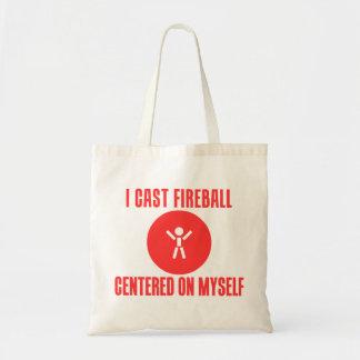 I Cast Fireball Budget Tote Bag