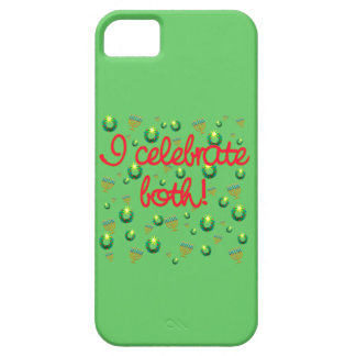 I Celebrate Both Christmas and Hanukkah iPhone 5 Cases