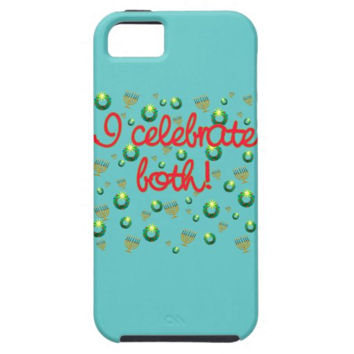 I Celebrate Both Christmas and Hanukkah iPhone 5 Covers