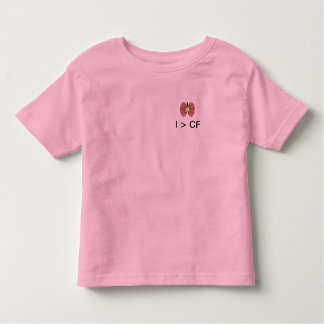 I > CF: Smiley Lungs Toddler T-Shirt