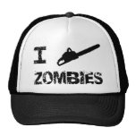 I Chainsaw Zombies Hats