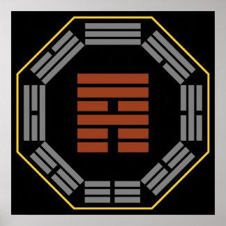 "I Ching Hexagram 53 Chien ""Development"" Poster"