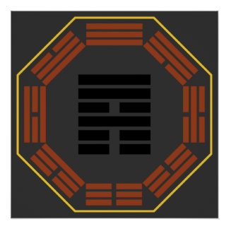 "I Ching Hexagram 53 Chien ""Development"" Print"
