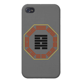 """I Ching Hexagram 64 Wei Chi """"Before Completion"""" Cover For iPhone 4"""