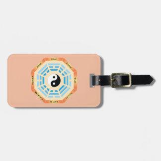 I Ching Yin Yang Luggage Tag