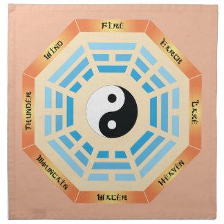I Ching Yin Yang Napkin