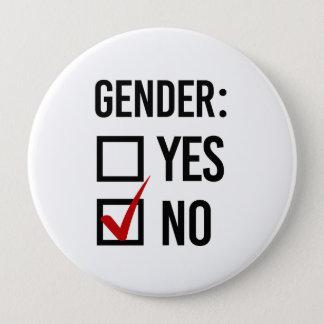 I choose No Gender - -  10 Cm Round Badge