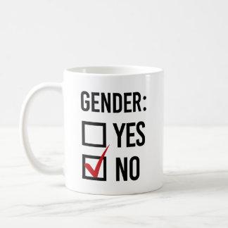 I choose No Gender - -  Coffee Mug