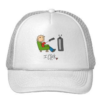 I Click TV Addict Mesh Hats