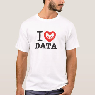 I ClickFox Data T-Shirt