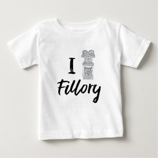 I (Clock) Fillory Baby T-Shirt
