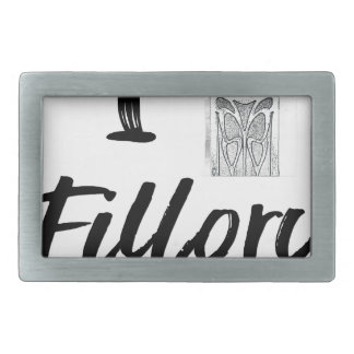 I (Clock) Fillory Belt Buckles