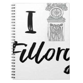 I (Clock) Fillory Notebooks