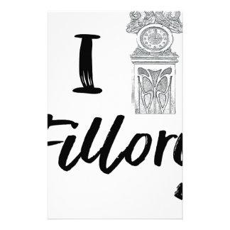 I (Clock) Fillory Stationery