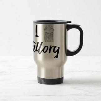 I (Clock) Fillory Travel Mug