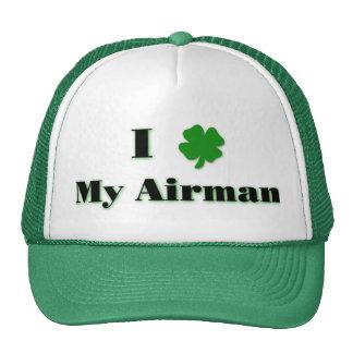 I (clover) My Airman Hat