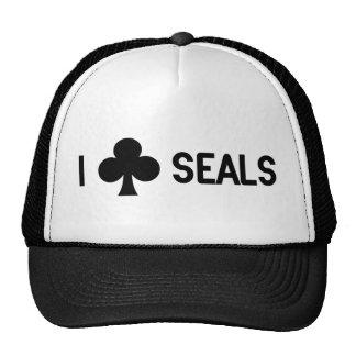 I Club Seals Cap