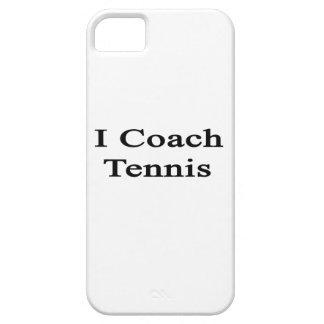 I Coach Tennis iPhone 5 Covers