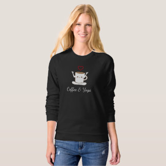 I ❤ Coffee and Yoga Sweatshirt