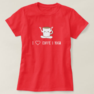 I ❤ Coffee and Yoga T-Shirt