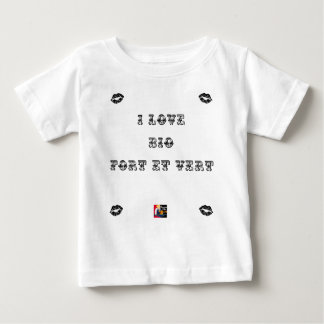 I coils Bio (EXTREMELY AND GREEN) - Word games Baby T-Shirt