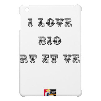 I coils Bio (EXTREMELY AND GREEN) - Word games iPad Mini Case