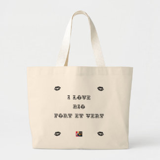 I coils Bio (EXTREMELY AND GREEN) - Word games Large Tote Bag