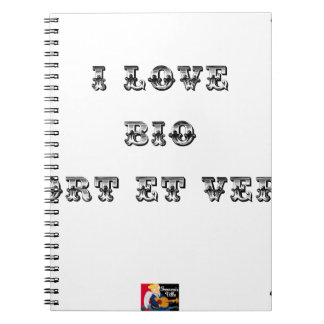 I coils Bio (EXTREMELY AND GREEN) - Word games Notebooks