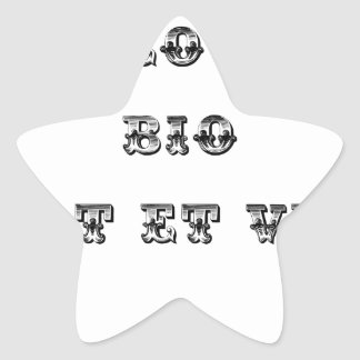 I coils Bio (EXTREMELY AND GREEN) - Word games Star Sticker