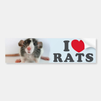 I coils (blazed) Rats Bumper Sticker