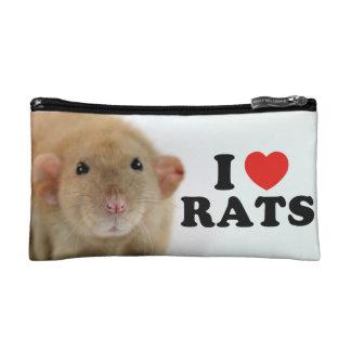 I coils (burmese) Rats Cosmetics Bags