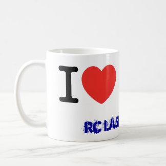I coils laser RC Sailing Basic White Mug