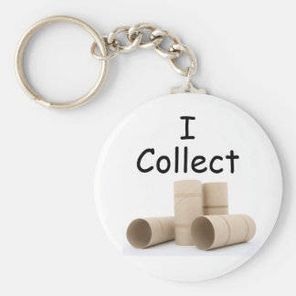 I collect toilet paper rolls keychain