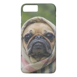 I Come in peace pug dog iPhone 8 Plus/7 Plus Case