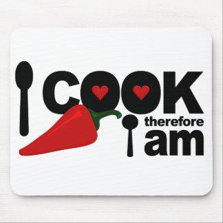 I Cook mousepad