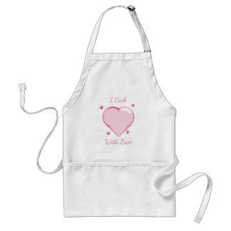 I Cook With Love Apron (Customizable)