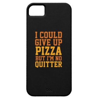 I Could Give Up Pizza Barely There iPhone 5 Case