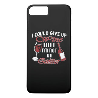 I could give up Wine iPhone 7 Plus Case